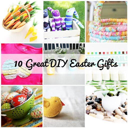 10 DIY Easter gifts