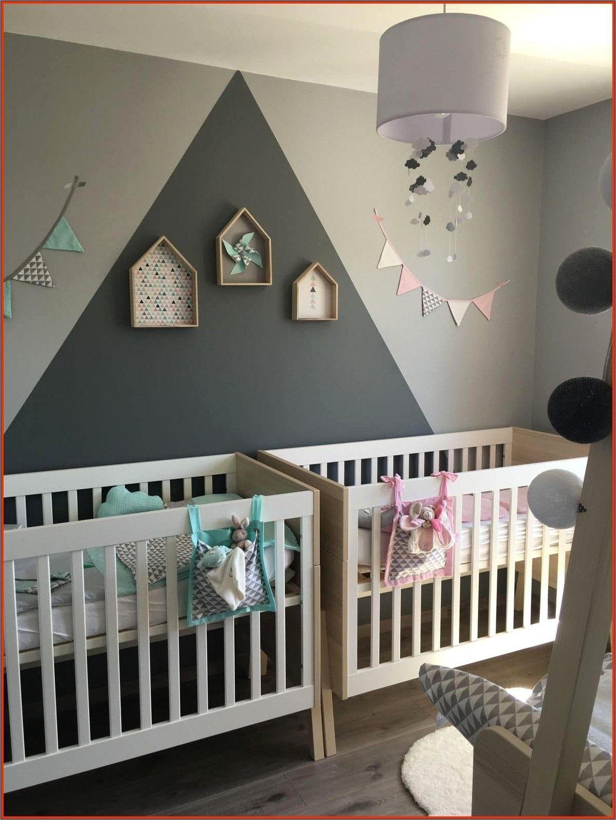 Deco Chambre Jumeaux Fille Garçon  Décoration murale chambre bébé