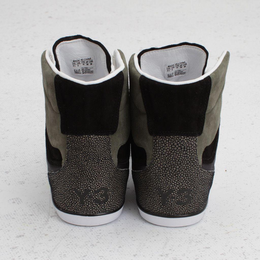7dd2acdef783b Adidas Y-3 Honja High (Graphite Black)  310