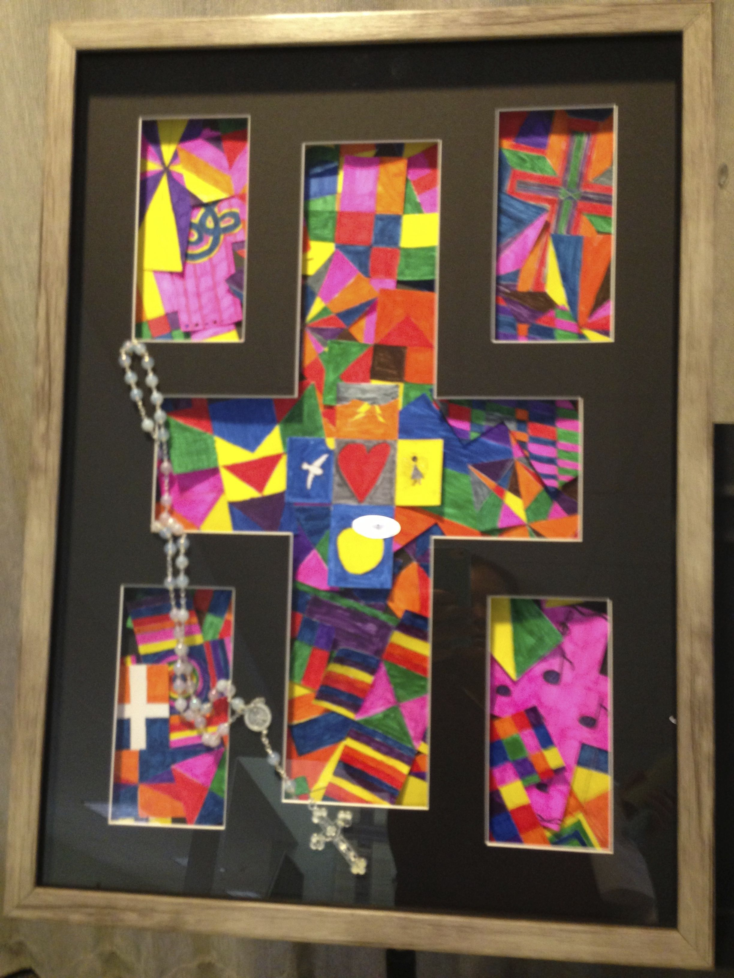 6th Grade Art Project For Our Annual Silent Auction