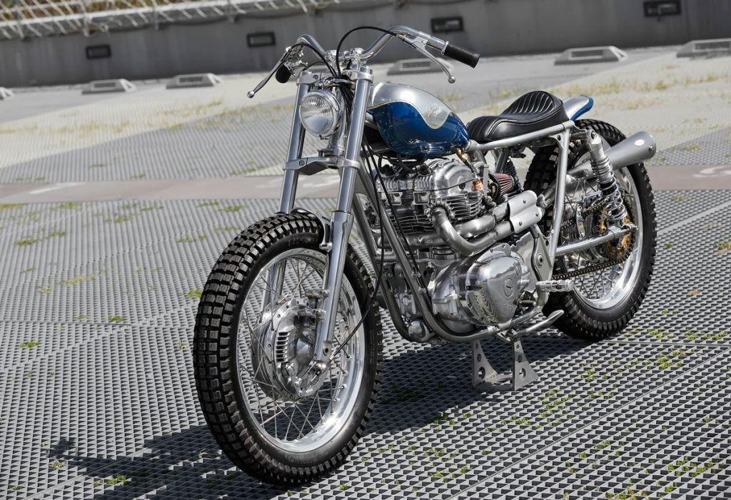 Interrupteur On Off Guidon Moto Café Racer Scrambler Tracker Custom Harley...