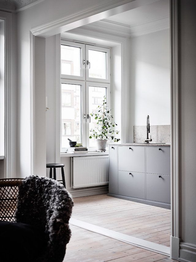 A serene Swedish home in soft muted
