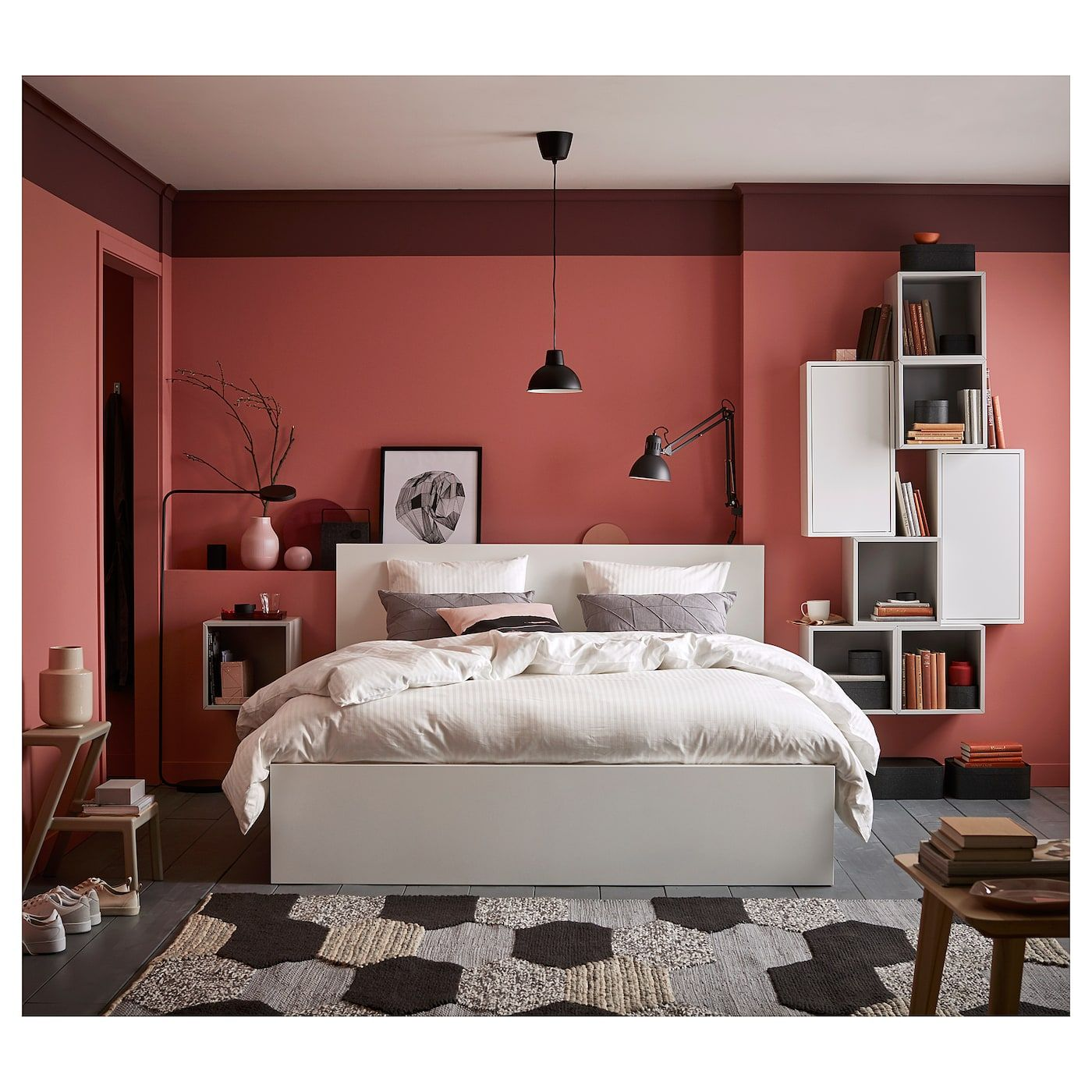 Ikea Malm White Luroy Bed Frame High Malm Bed Malm Bed Frame