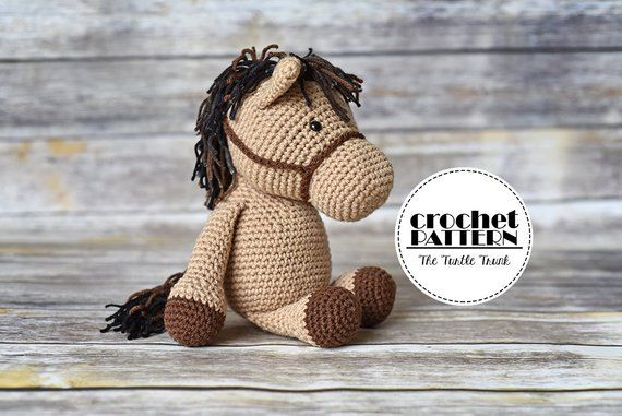 Unicorn and Horse Crochet Pattern, Crochet Horse and Crochet Unicorn Pattern, Unicorn Doll Pattern, Horse Doll Pattern, PDF Digital Download #horsepattern