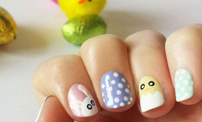 32 Cute Nail Art Designs For Easter Pinterest Easter Nail