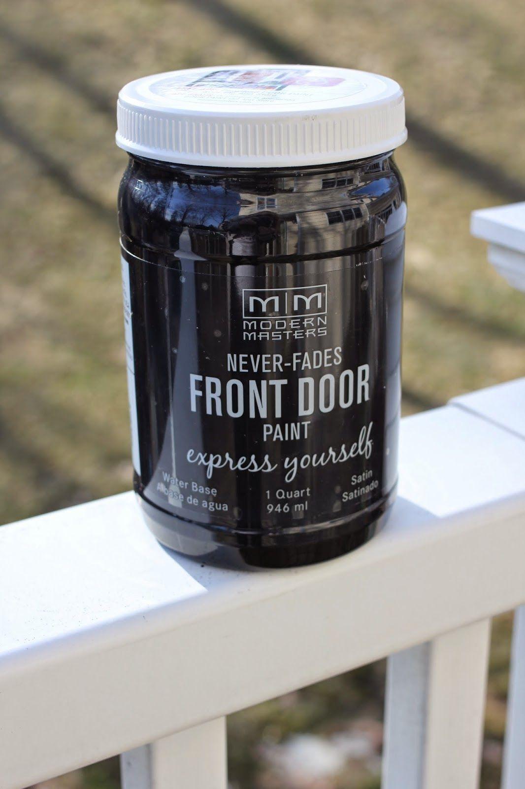 New Front Door Paint Painted Front Doors Painted Doors Front Door