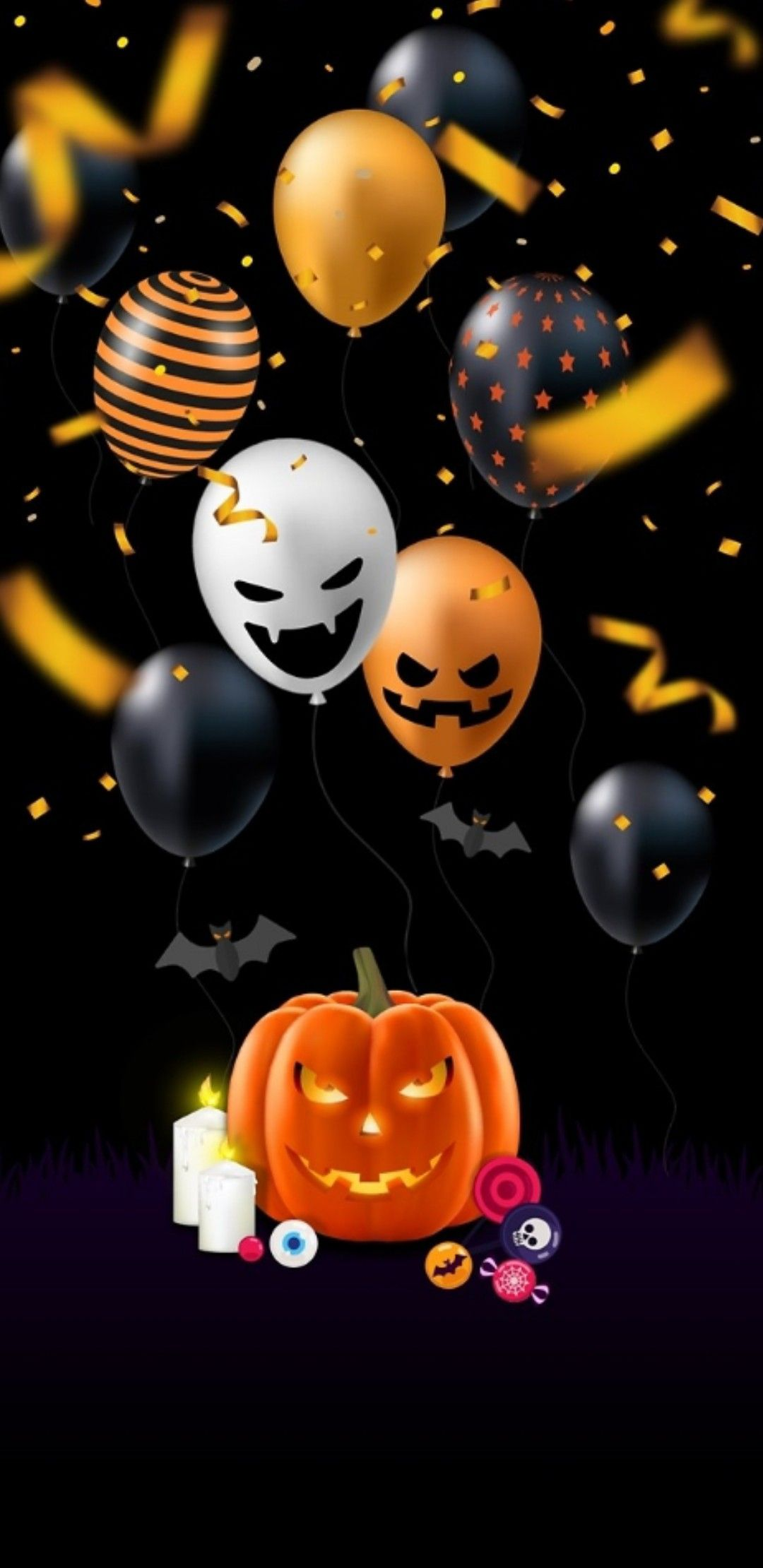Wallpaper By Artist Unknown Autumn Phone Wallpaper Halloween Wallpaper Holiday Wallpaper