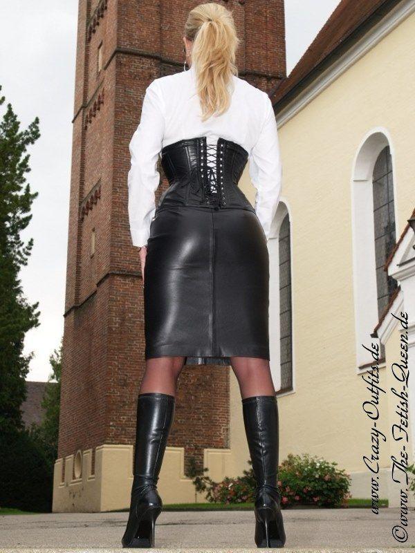 Teen lether skirt fetish