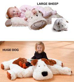 Giant stuffed animals!