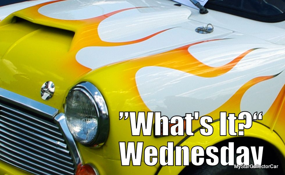 """MSCC July 6 """"What's It?"""" Wednesday-the flames aren't typical. Go to this MSCC link for the answer: http://mystarcollectorcar.com/whats-it-wednesday-a-mid-week-test-for-the-automotive-trivia-guys/"""