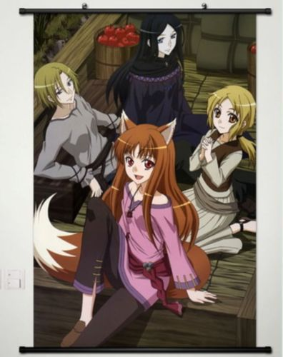 US $26.88  Spice and Wolf Horo Home Decor Anime whole Poster Wall Scroll Cosplay New 109 cosplay final fantasy 7 cosplay narutocosplay cap - AliExpress