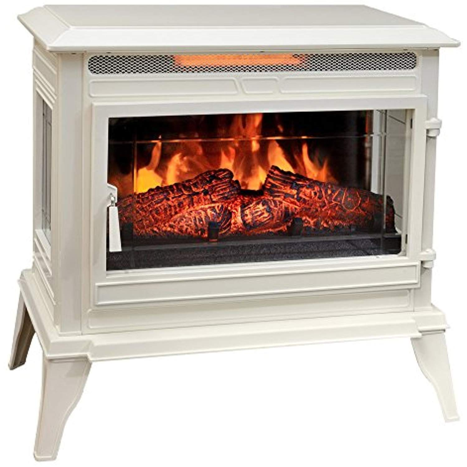 comfort smart jackson infrared electric fireplace stove heater rh pinterest com