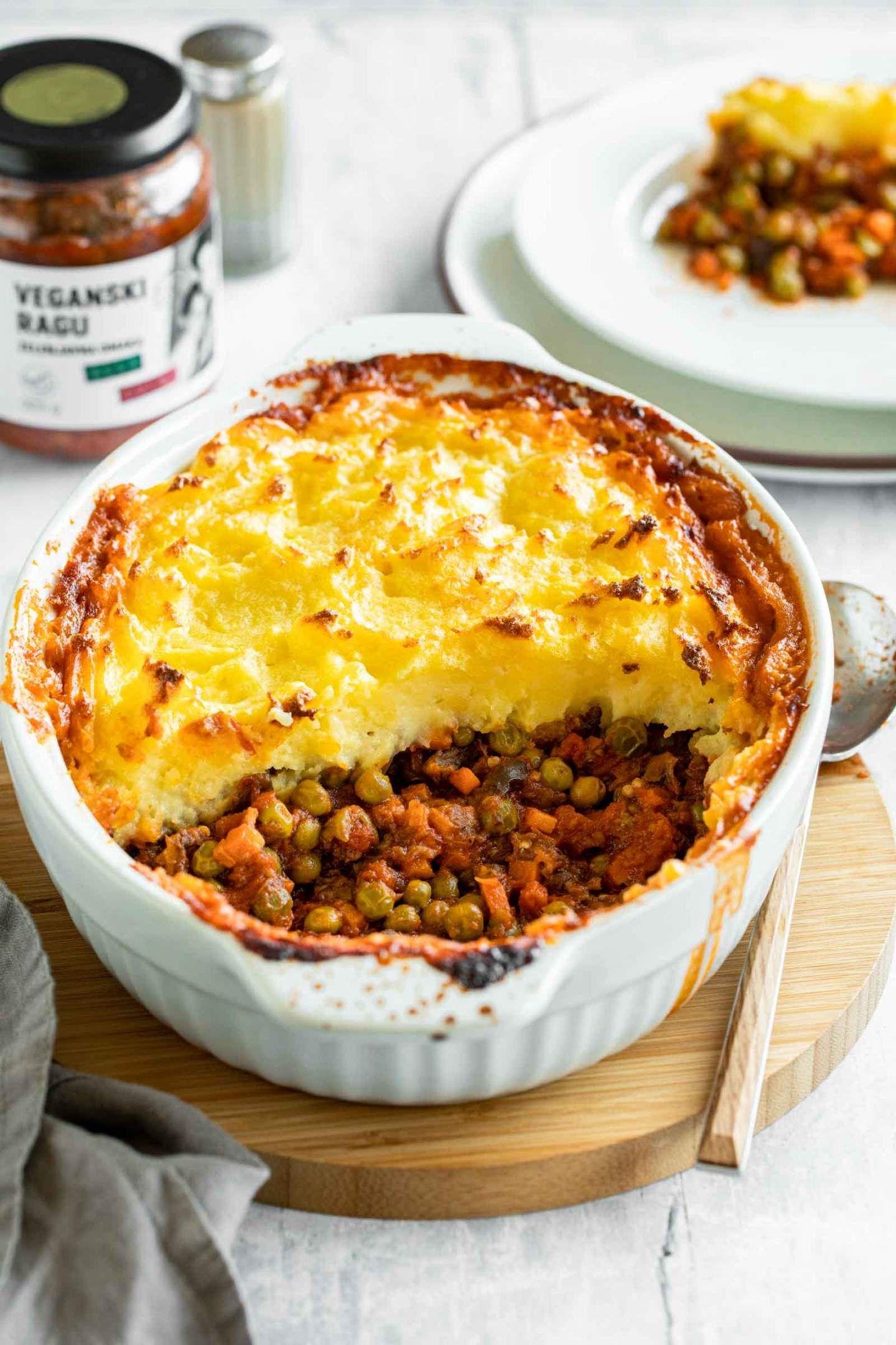 Vegetarian Shepherd S Pie Recipe Vegetarian Shepherds Pie Shepherds Pie Vegetarian