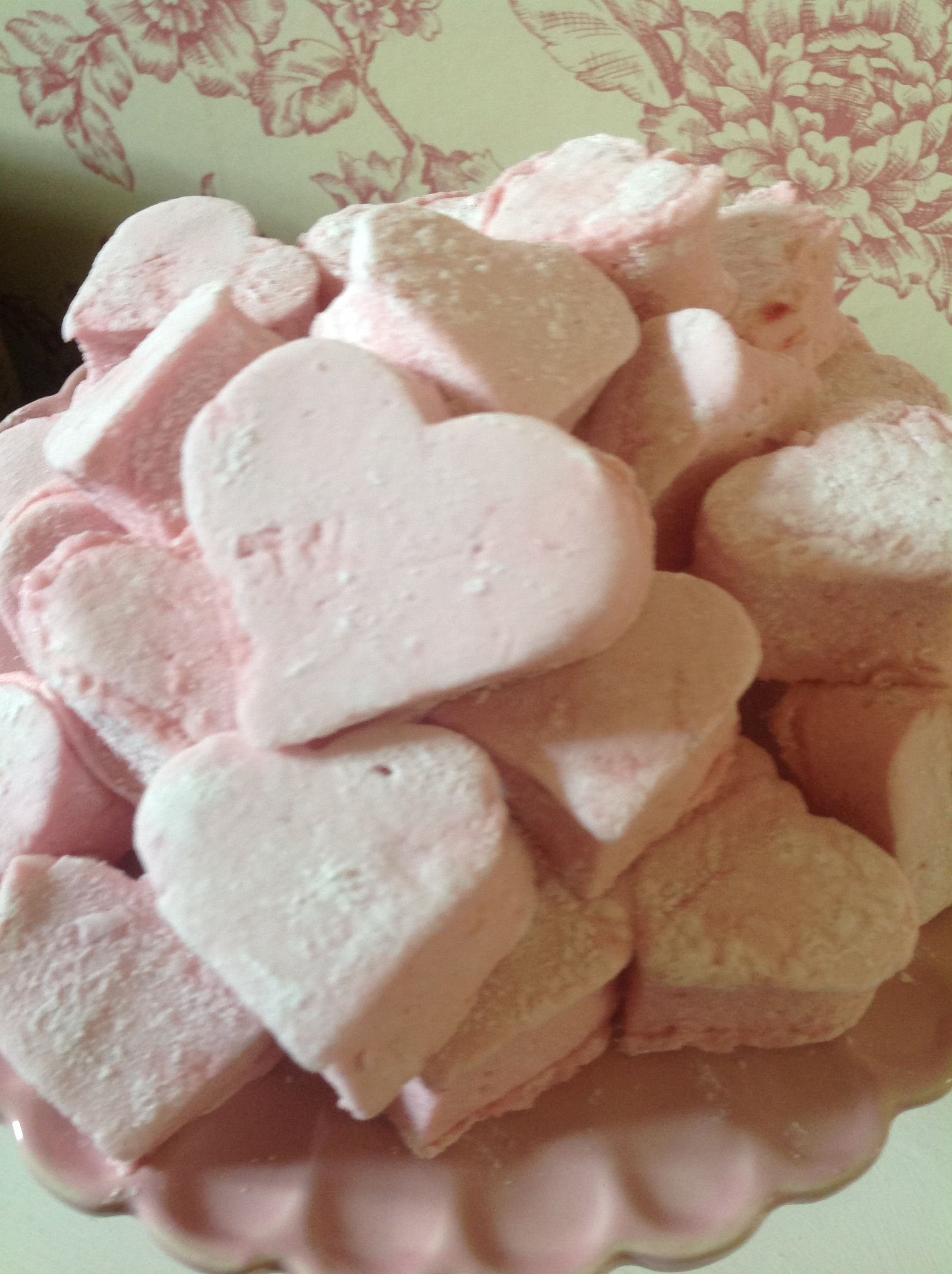 Widdle homemade heart shaped crackers for babys | Sweet