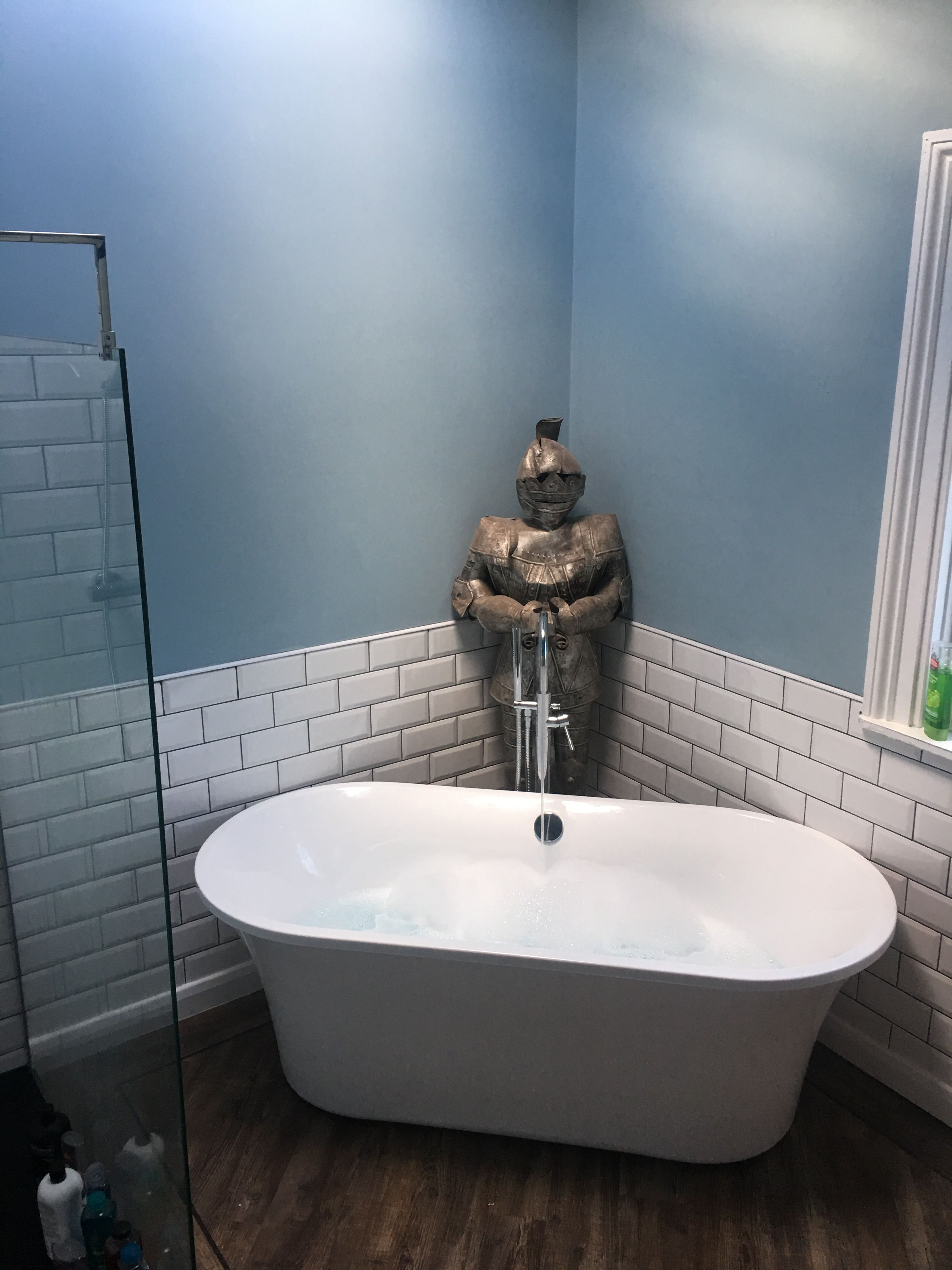 My new bathroom freestandingbath knight My new