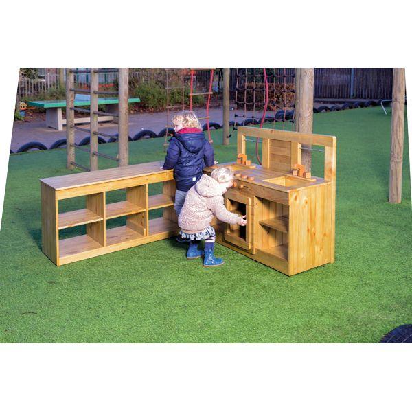 Eduplay, Outdoor Küche für Kinder Toll für Rollenspiele im Freien - outdoor küche selber bauen
