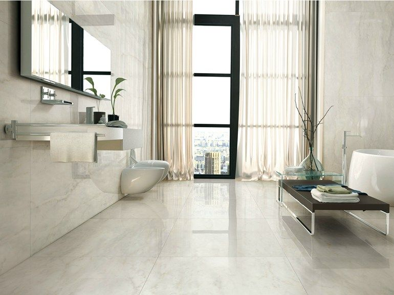 Porcelain Stoneware Wall Floor Tiles With Marble Effect I Marmi Bianco Bernini I Marmi Collection By Ava Cerami Wall And Floor Tiles Unique Flooring Tile Floor