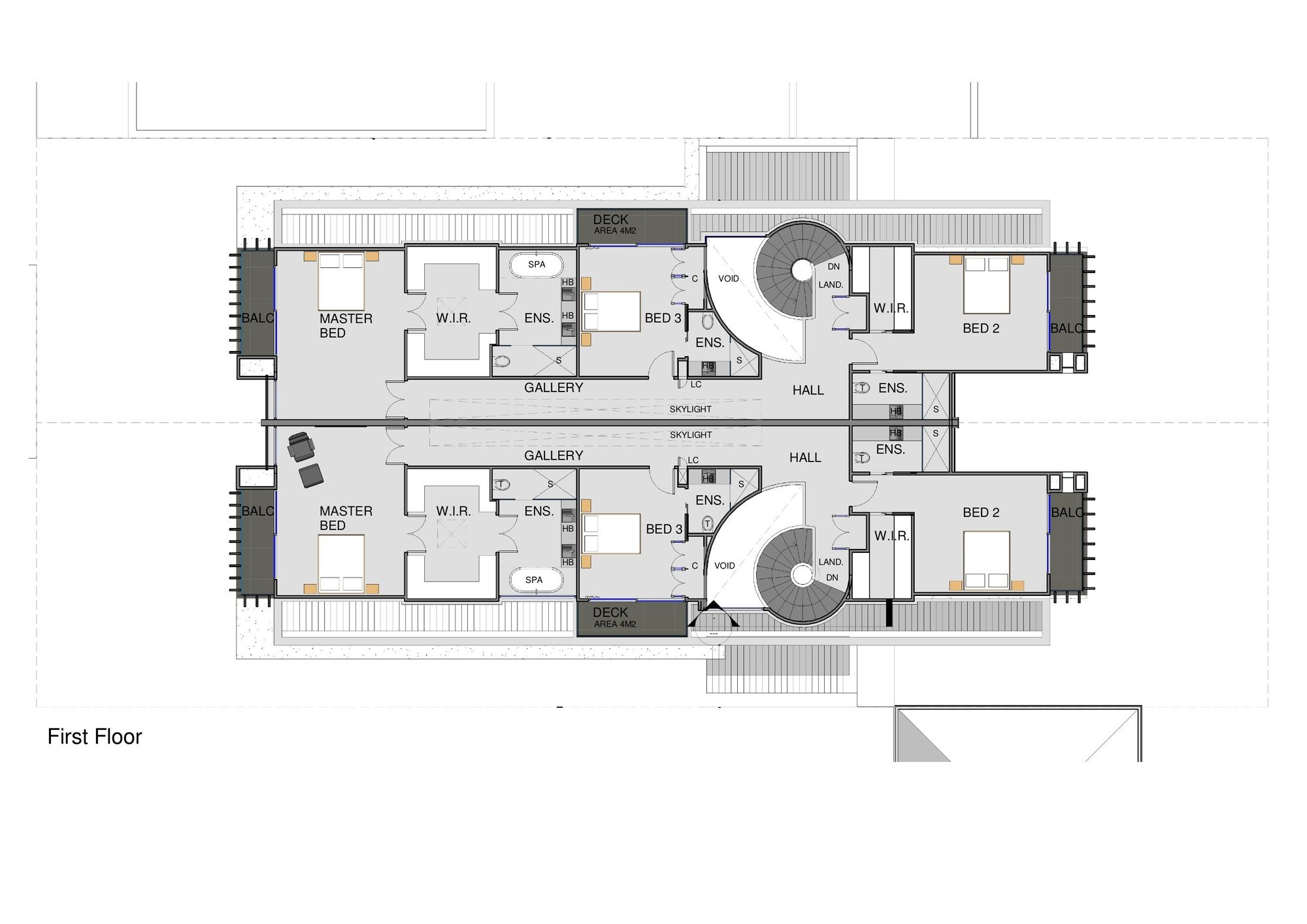 Architects Galeria de As Townhouses de Brighton