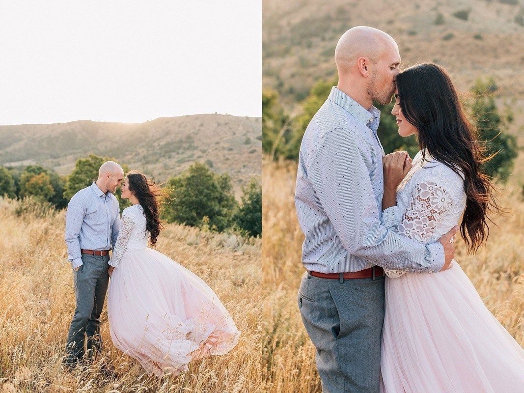 Tulle engagement outfit logan utah wedding advice and bliss