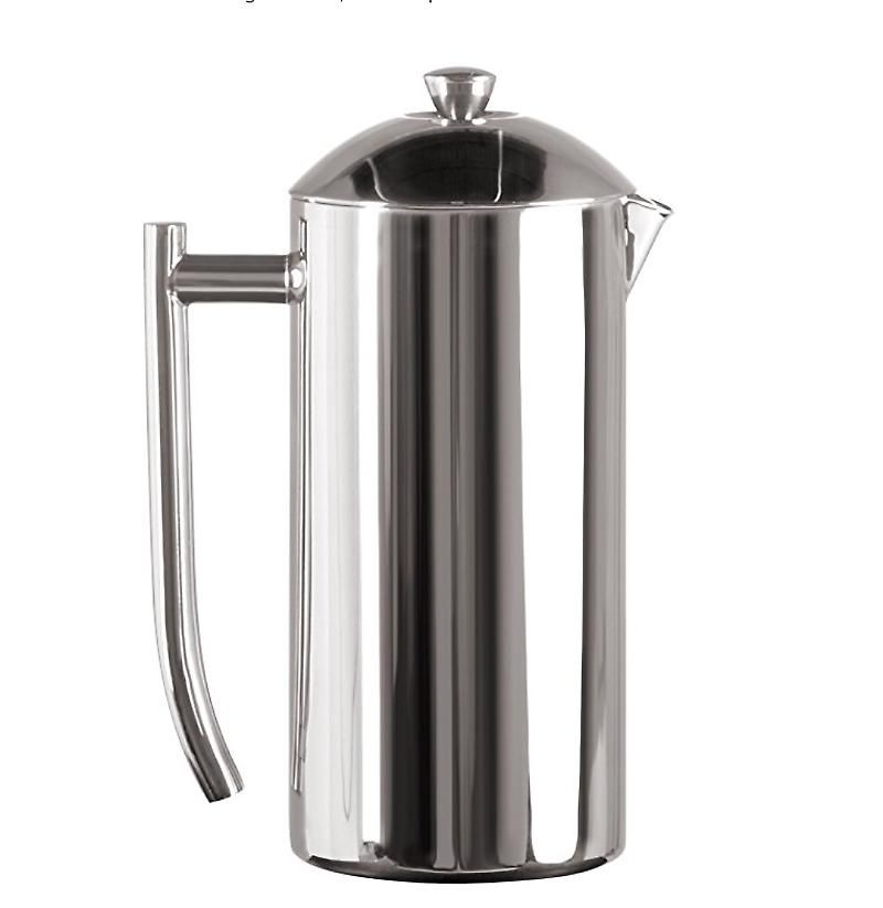 Double Wall Stainless Steel French Press Mirror Finish