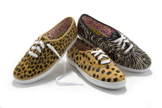 Opening Ceremony and Keds Animal Print Collection Makes Us Roar #cats trendhunter.com