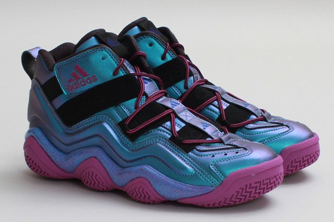 6081edd7 adidas Basketball 'Oil Spill' Pack: Crazy 8, Top Ten 2000 & Real Deal