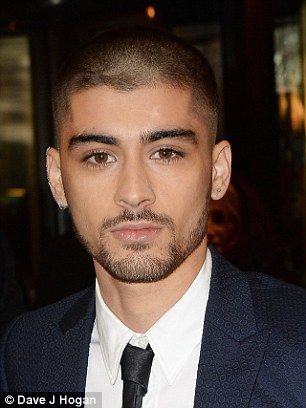 Zayn Malik Reveals Buzzcut As He Takes His Mum To The Asian Awards