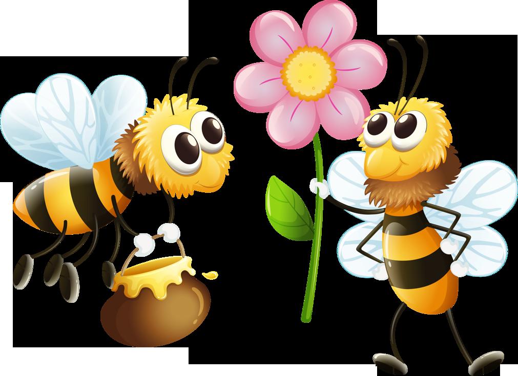 Открытки добрым, поздравления с днем рождения в картинках пчелы