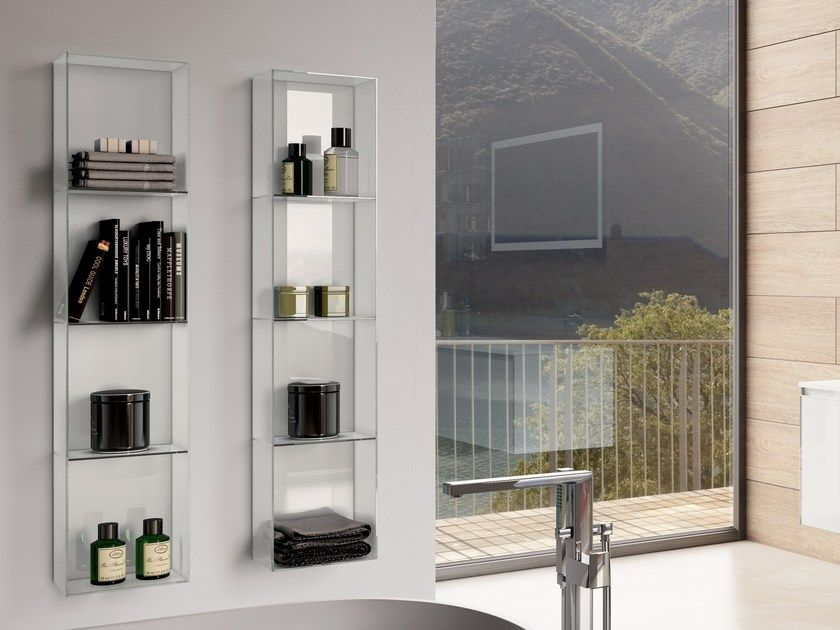 wall mounted glass display cabinet moma by q in glass in 2019 rh pinterest es