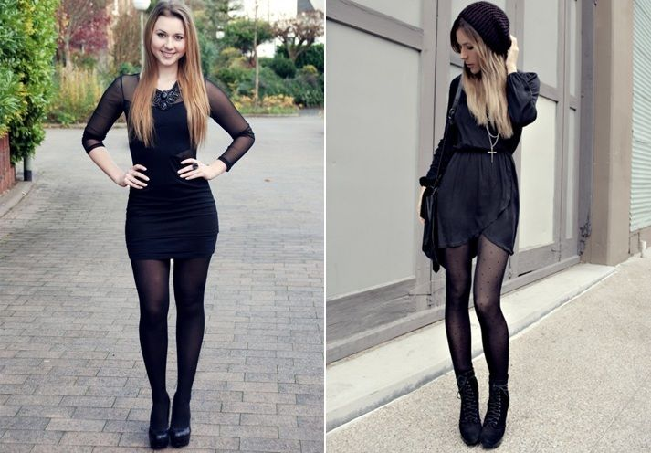 How To Wear A Little Black Dress This Winter Fashion Apparels