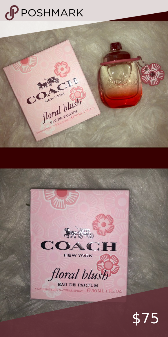 Coach Floral Blush Brand New In Box Coach Other In 2020 Coach Floral Floral Coach