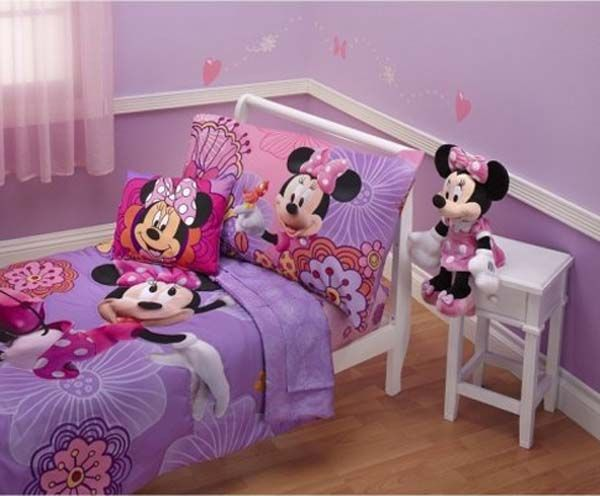 Minnie mouse bedding for girls Minnie Mouse Bedroom Decor for the ...