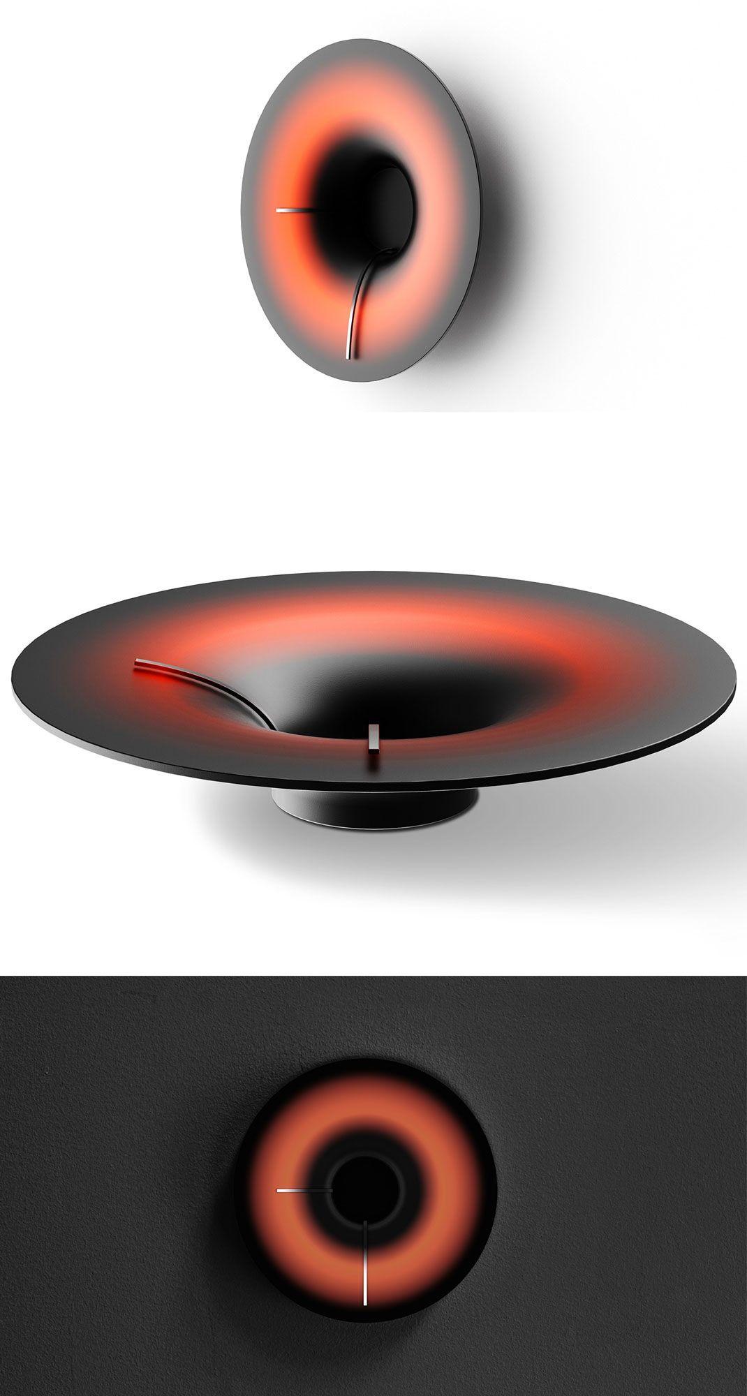 Tim Chen - Black hole clock   Design Inspiration - Industrial design / product design blog #industridesign