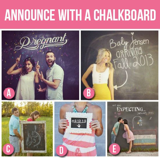 1000 images about Baby Announcement Ideas – Surprise Baby Announcement Ideas