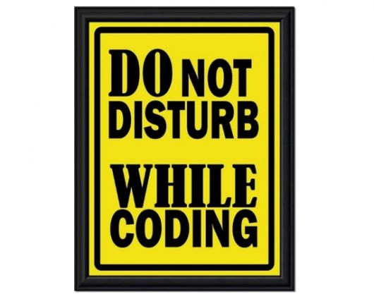 Programmer Wall Art Disturbing Programming Humor Programmers Desk