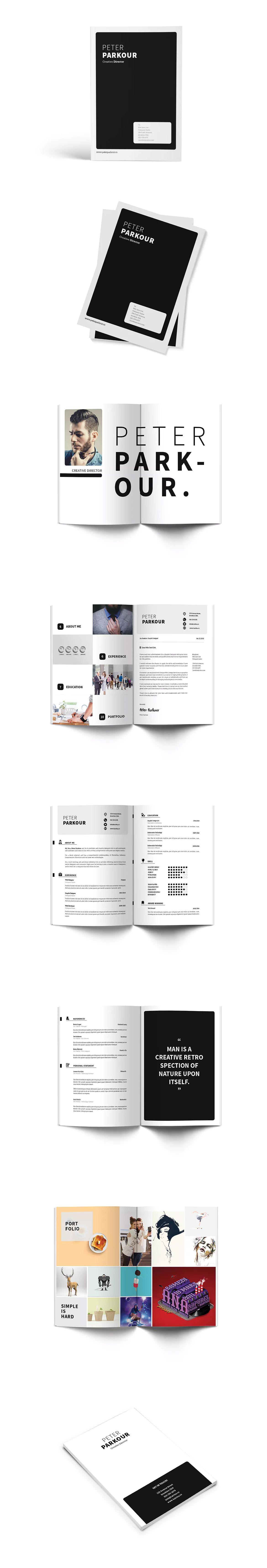 Creative director cv resume by giantdesign on creative