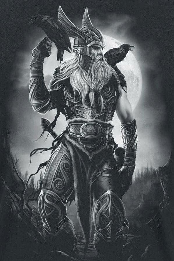 Odin ℒℴѵℯ Cjf Vikings Facts And Legends Viking