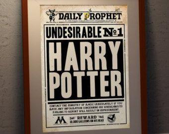 INSTANT DOWNLOAD Harry Potter Inspired Bookmarks by SJWonderlandz