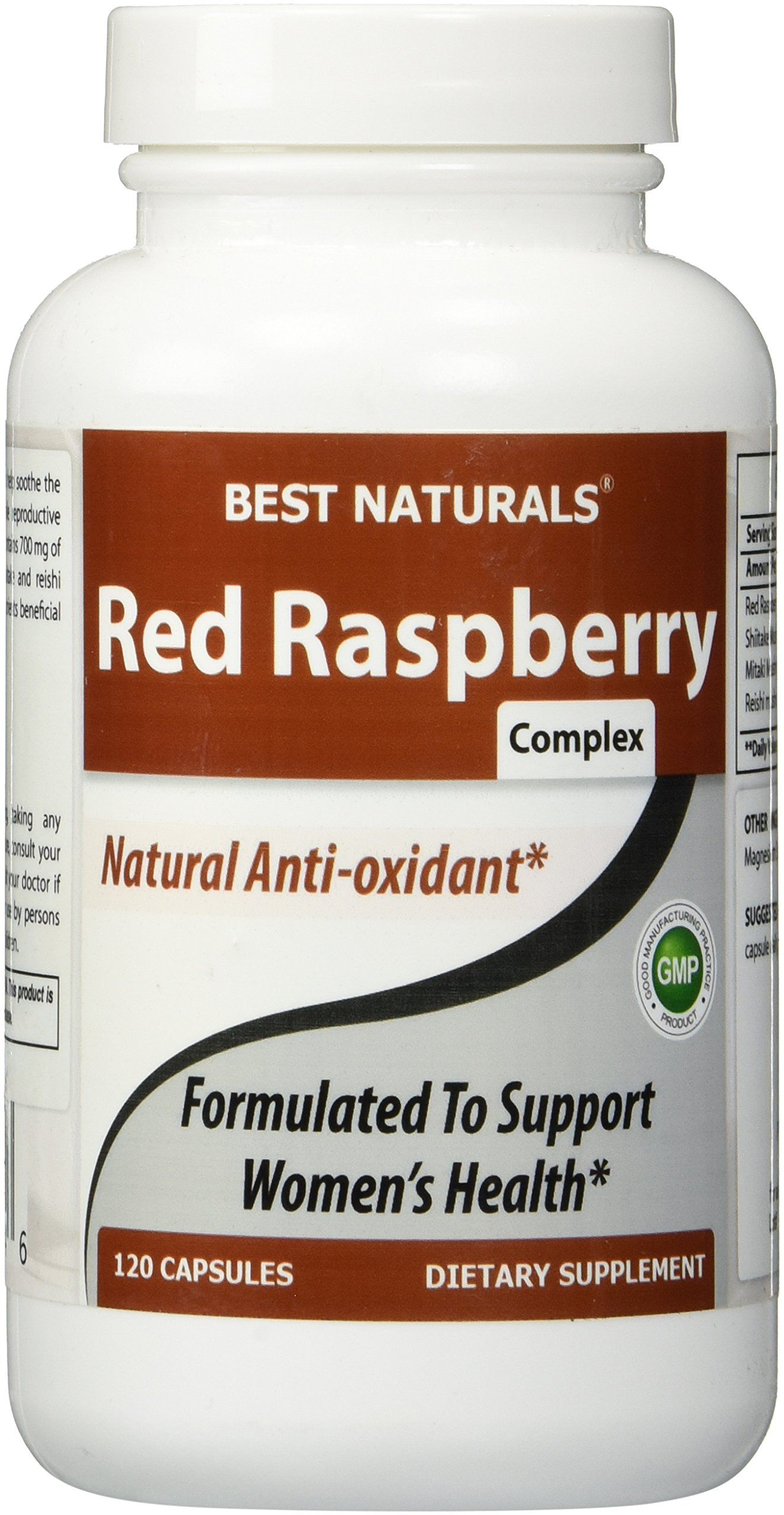 Best naturals red raspberry complex 800 mg 120 capsules