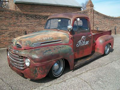 Lowered 1949 Ford F100 Google Search Rat Rod 1950 Ford Pickup Old Ford Trucks