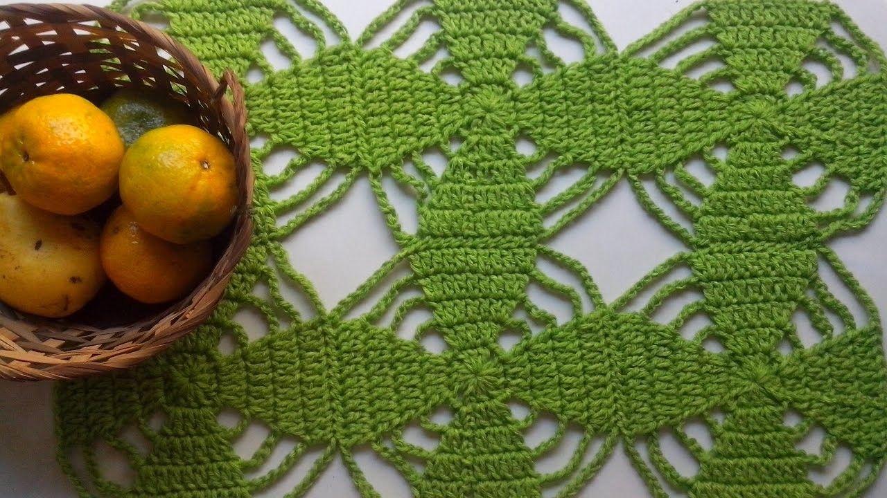 Crochet Centro de mesa - Tutorial Paso a paso
