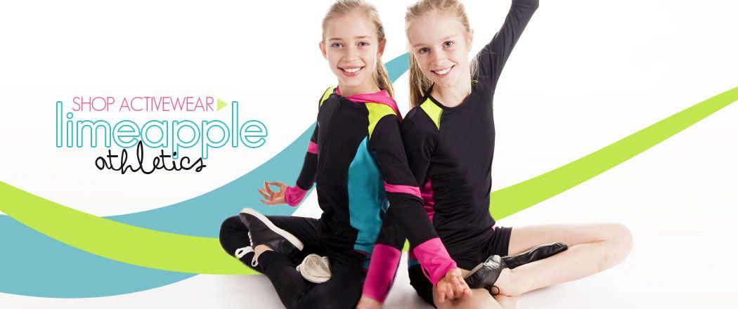 Shop Preteen Girls Swim Wear, Active Wear, Yoga Wear & Casual Clothing   Limeapple