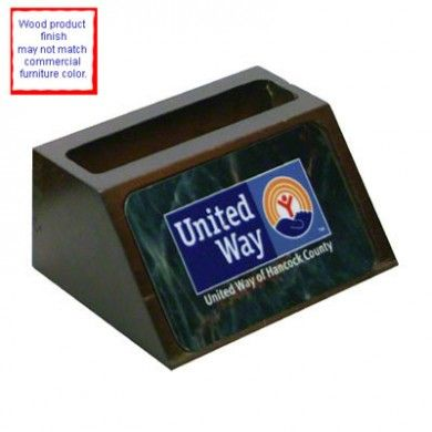 Unisub mahogany wooden businesscardholder includes a 2x35x030 unisub wooden includes a aluminum insert holds up to fifty business cards reheart Gallery