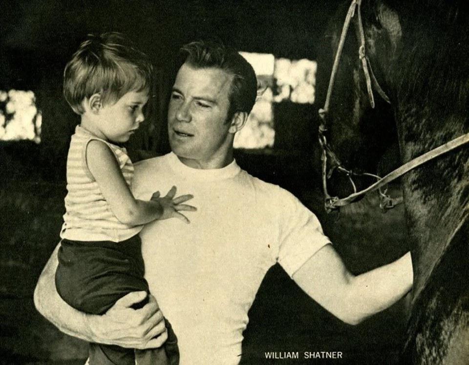William Shatner with daughter   Star trek characters, Star trek movies ...