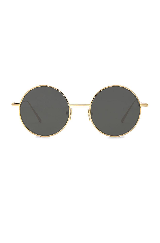 2949bedc06 Acne Studios Scientist Sunglasses in Gold   Black