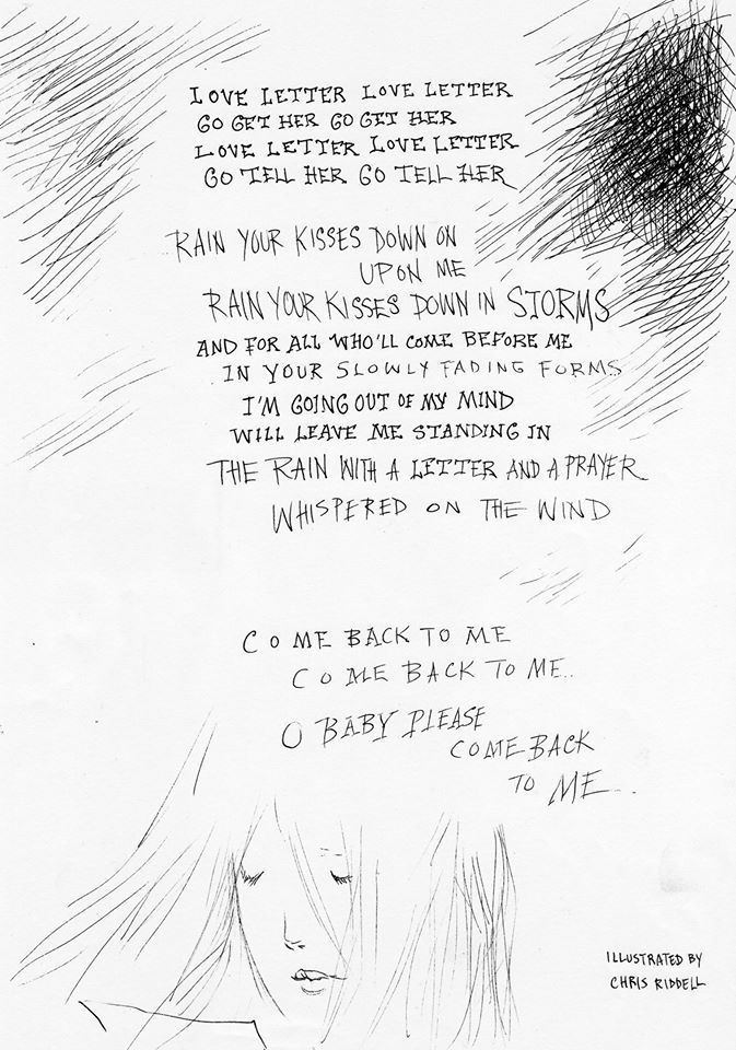 Chris Riddell: Love Letter by Nick Cave 2 | Visual Art | Nick Cave