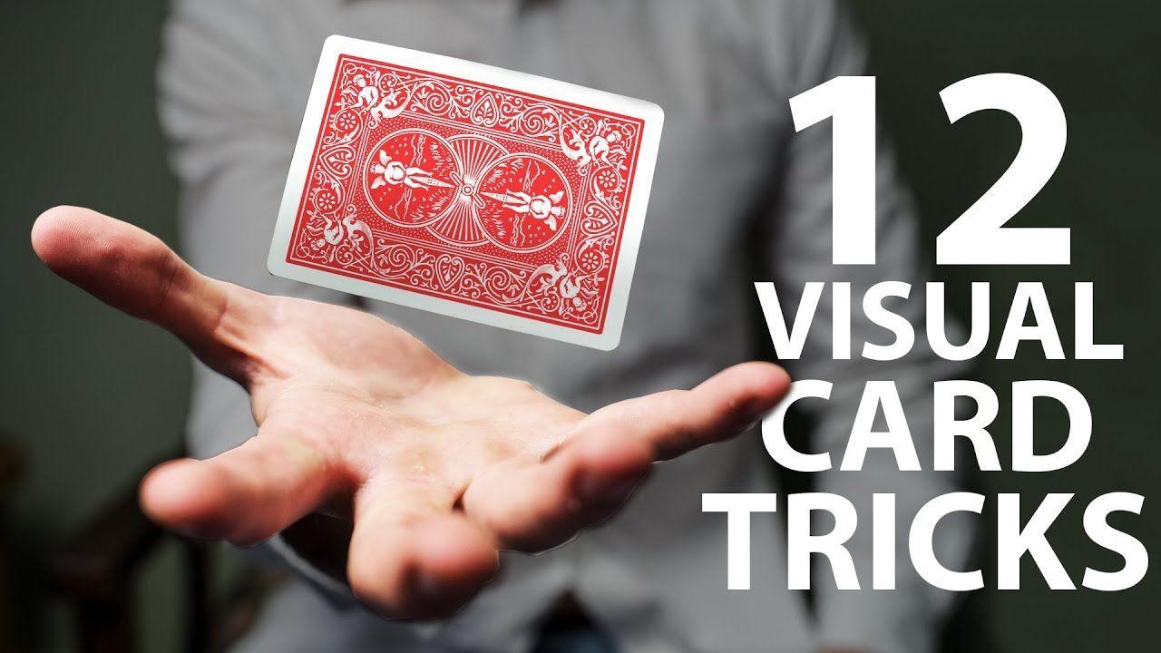 12 Visual Card Tricks Anyone Can Do Revealed Easy Card Tricks Easy Magic Card Tricks Card Tricks