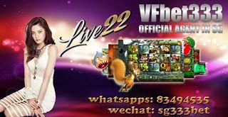 VFbet333 -- No.1 Singapore Online Casino --: VF BET333 No.1 Singapore Online Slot Site: VF BET3...