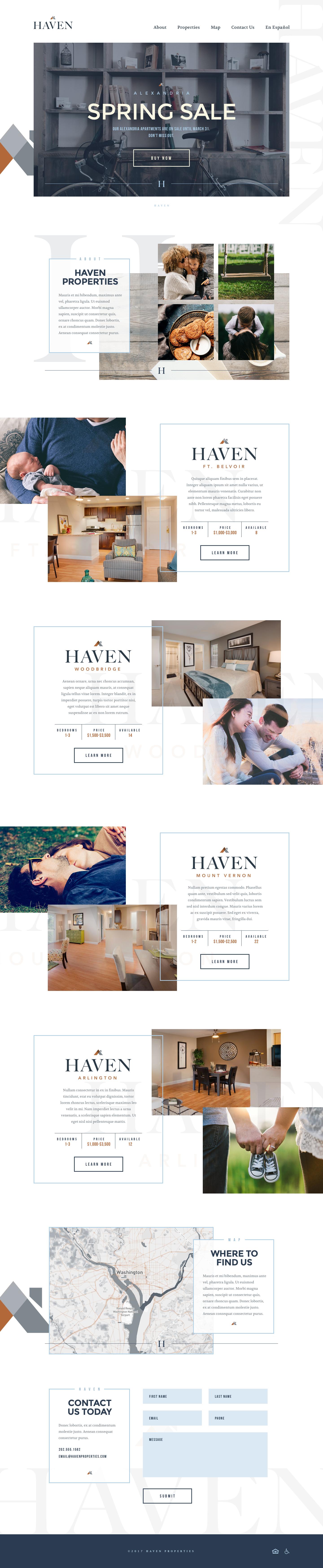 Haven Website Design Web Design Portal Design Web Design Inspiration
