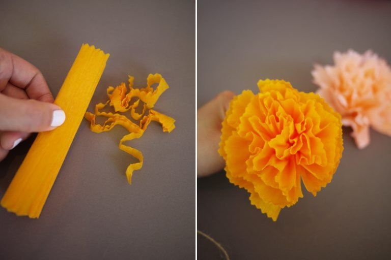 17 diy projects Paper pom poms ideas